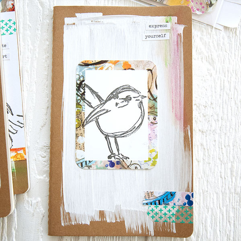 Mixed-Media Bird Journals Project