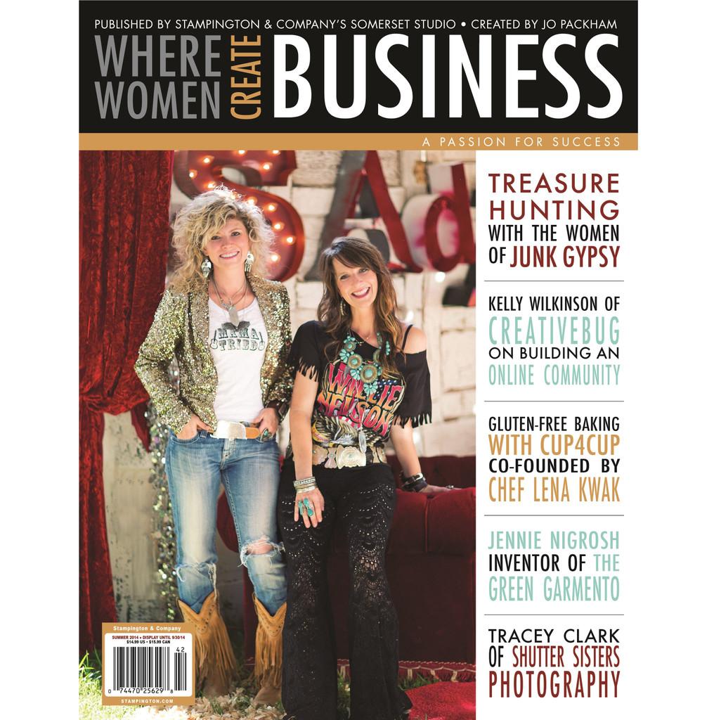Where Women Create BUSINESS Summer 2014