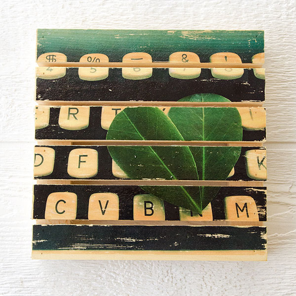 Mini Rustic Wood Pallet Image Transfer Project by Johanna Love