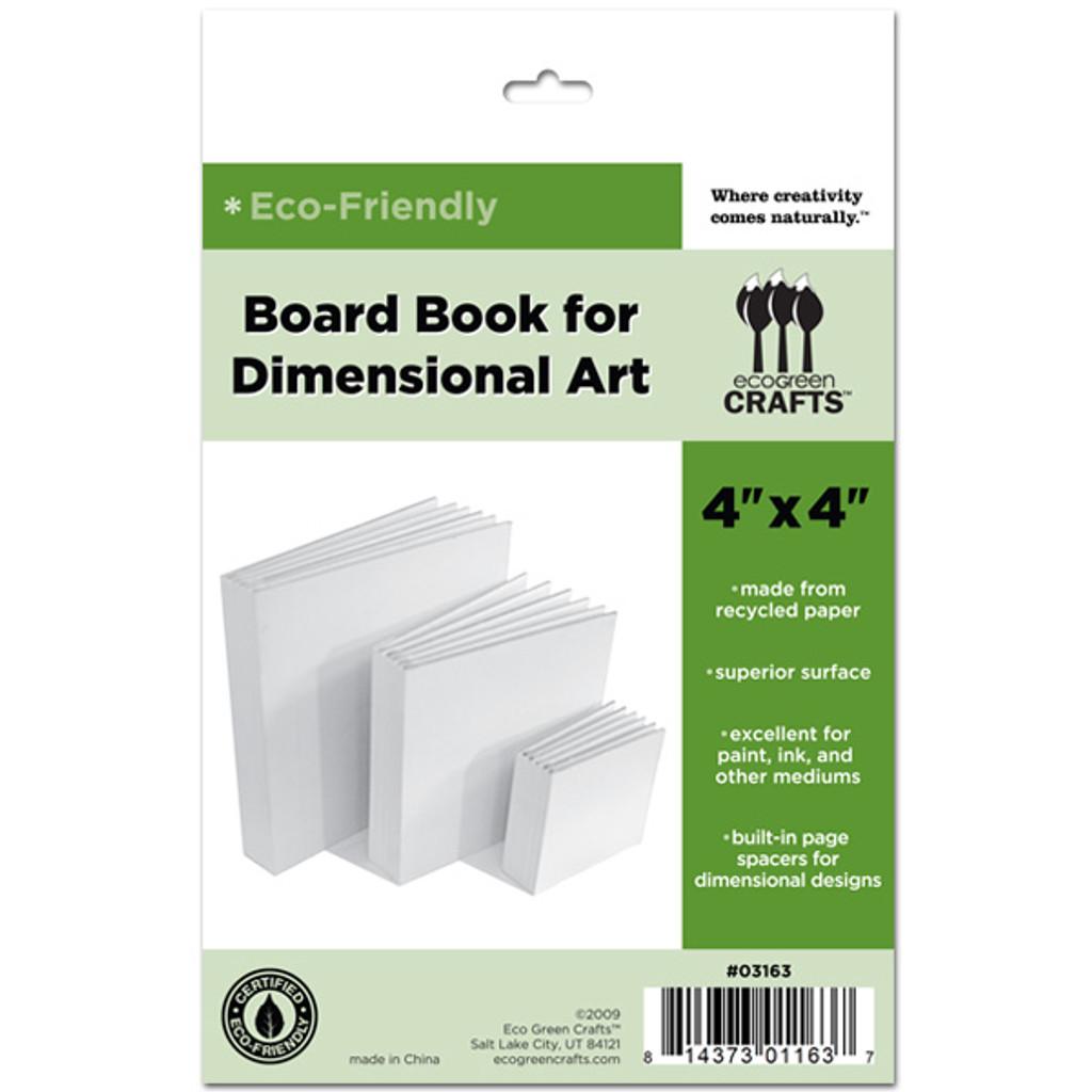 """Dimensional Board Book 4"""" x 4"""""""