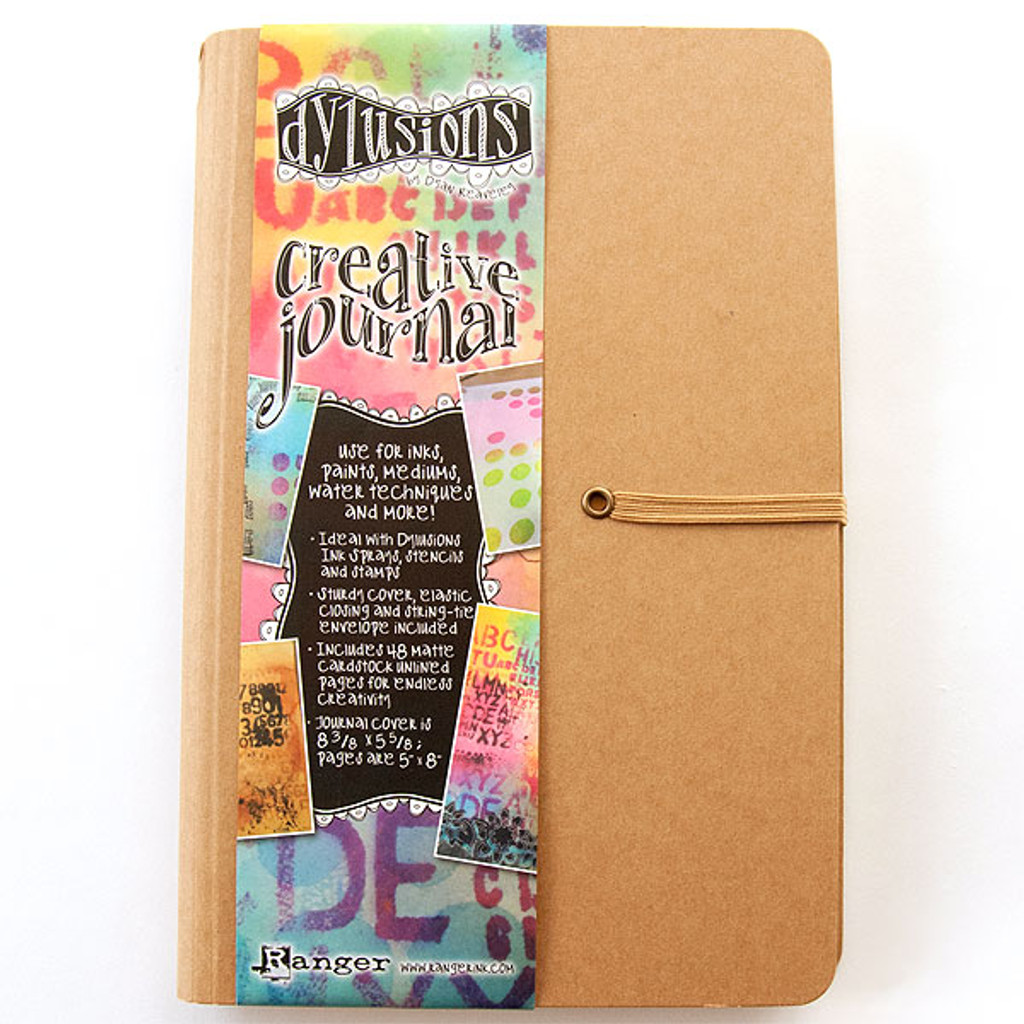 Ranger Ink Dylusions Small Creative Journal by Dyan Reaveley