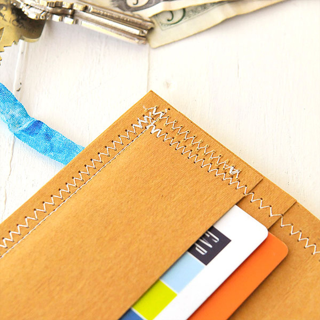 Quick and Easy Kraft Wallet Project