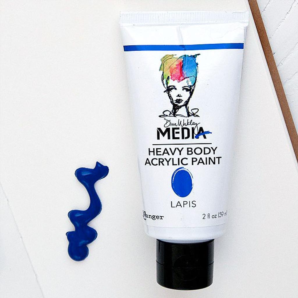 Ranger Ink Dina Wakley Media Heavy Body Acrylic Paint — Lapis