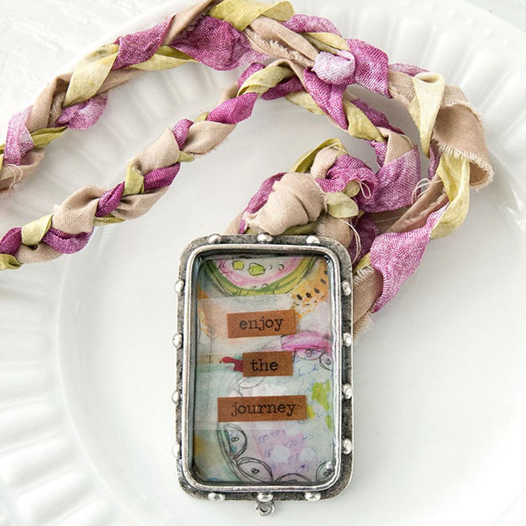 Enjoy the Journey Bezel Necklace Project