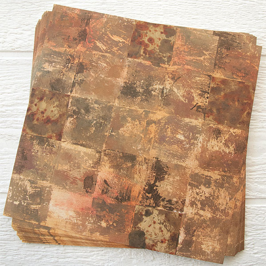 Lynne Perrella Artist Paper Solid Sepia 50 pack