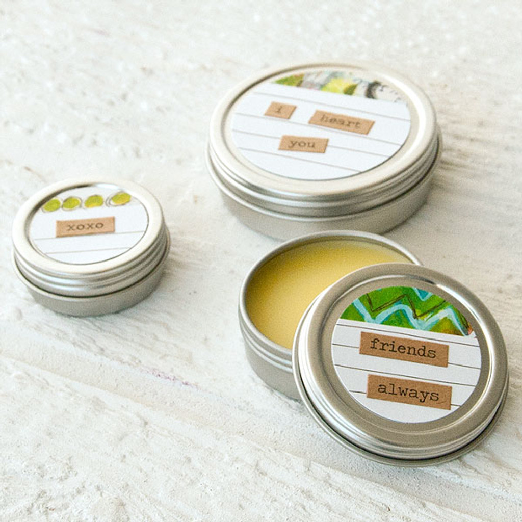 Coconut Lemon Lip Balm Project