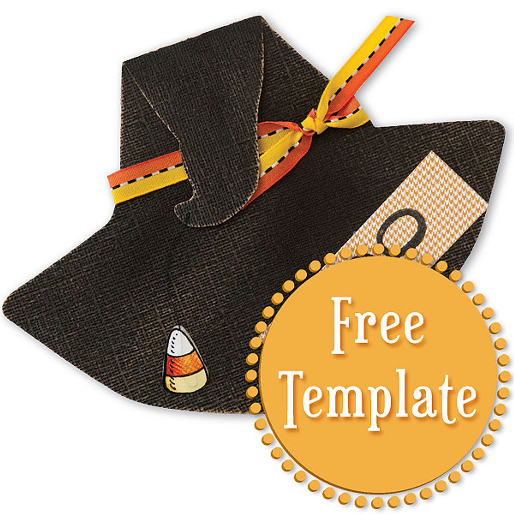 Witch Hat Template