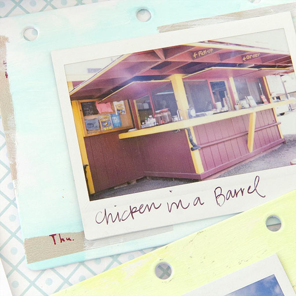 Picture-Perfect Polaroid Mini Book Project by Christen Olivarez