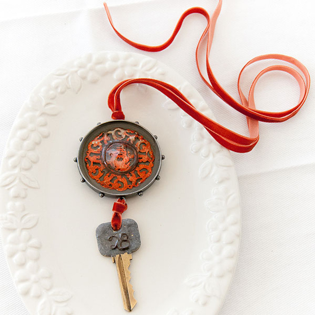Iced Enamels Relique Lanyards by Johanna Love