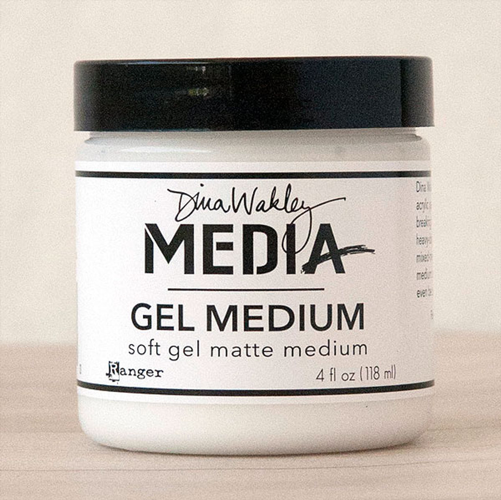 Ranger Ink Dina Wakley Media Gel Medium - 4 oz Jar