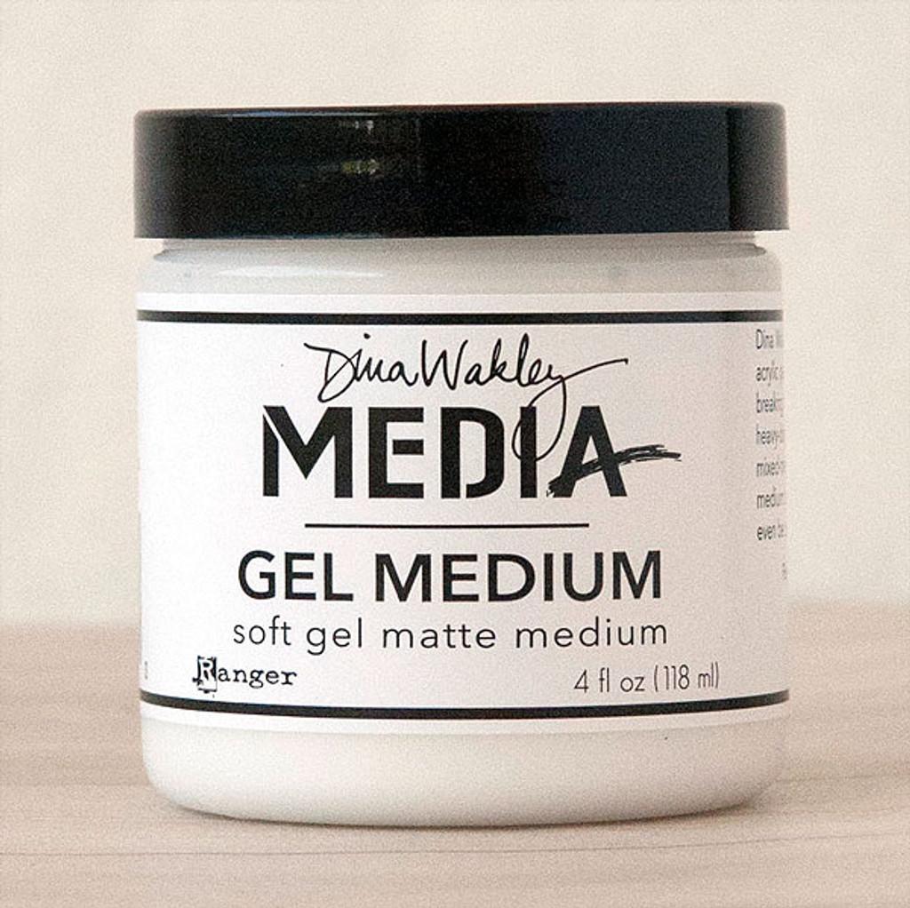 Ranger Ink Dina Wakley Media Gel Medium — 4 oz Jar
