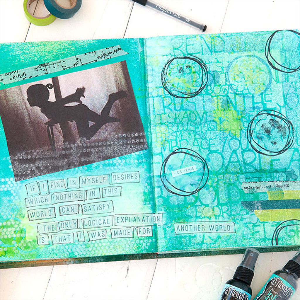 Made For Another World Art Journal Project