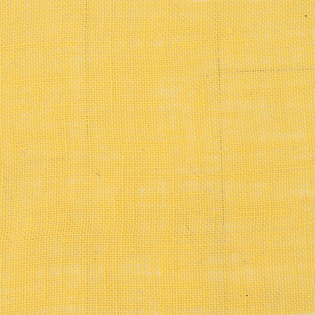 Canvas Corp Burlap Sheet — Yellow