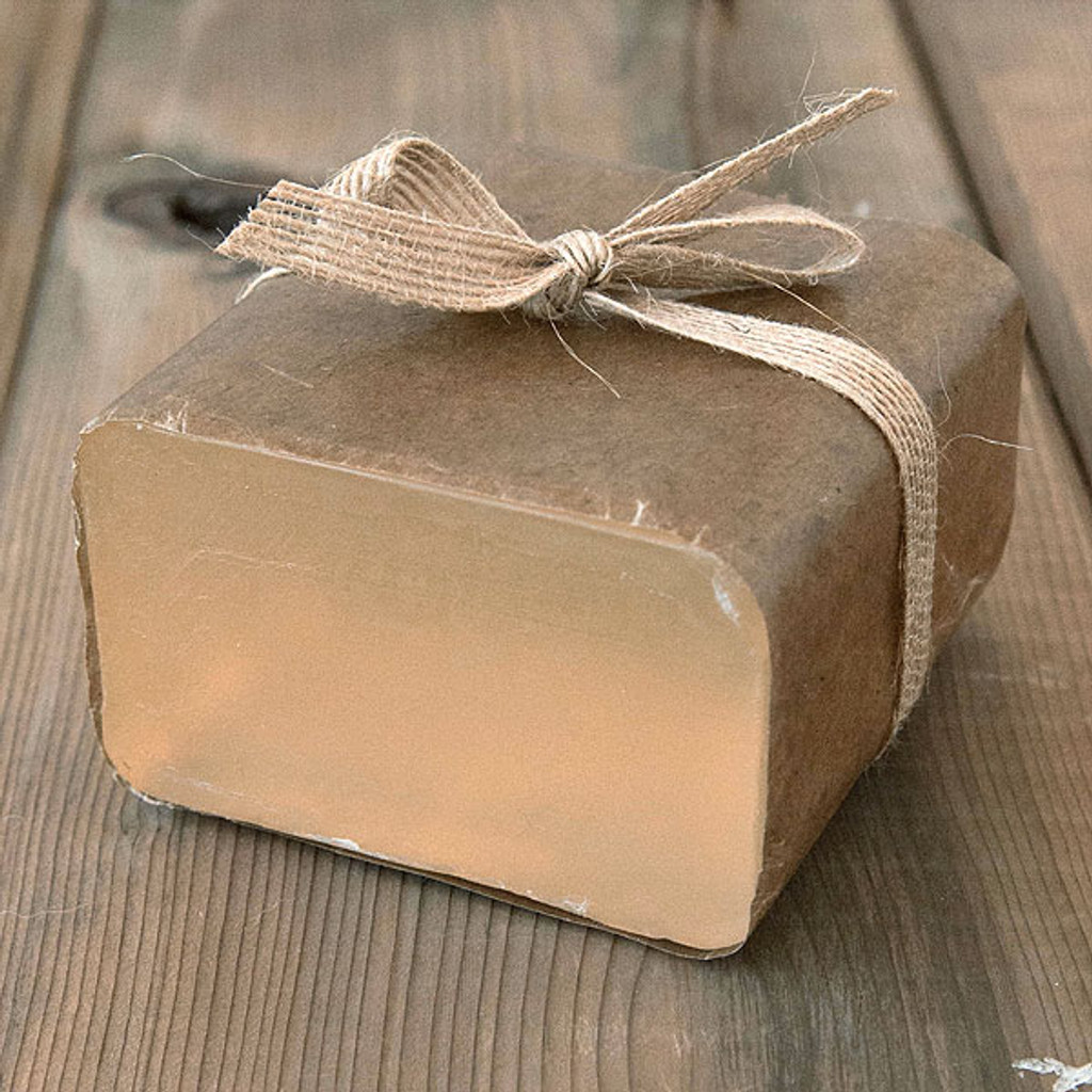 Honey Soap Base — 1 lb Wrapped Bar