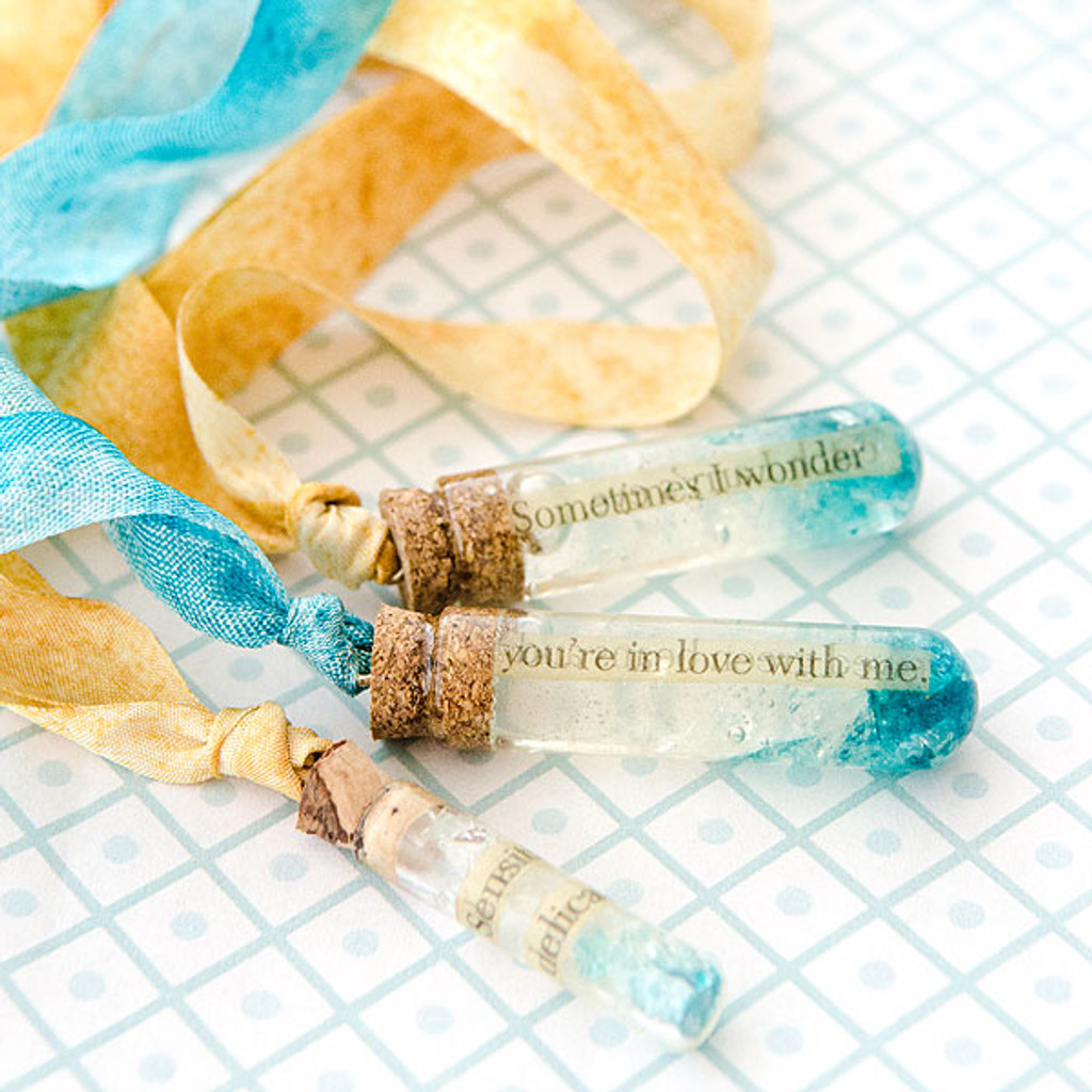Ice Capsule Necklaces by Johanna Love