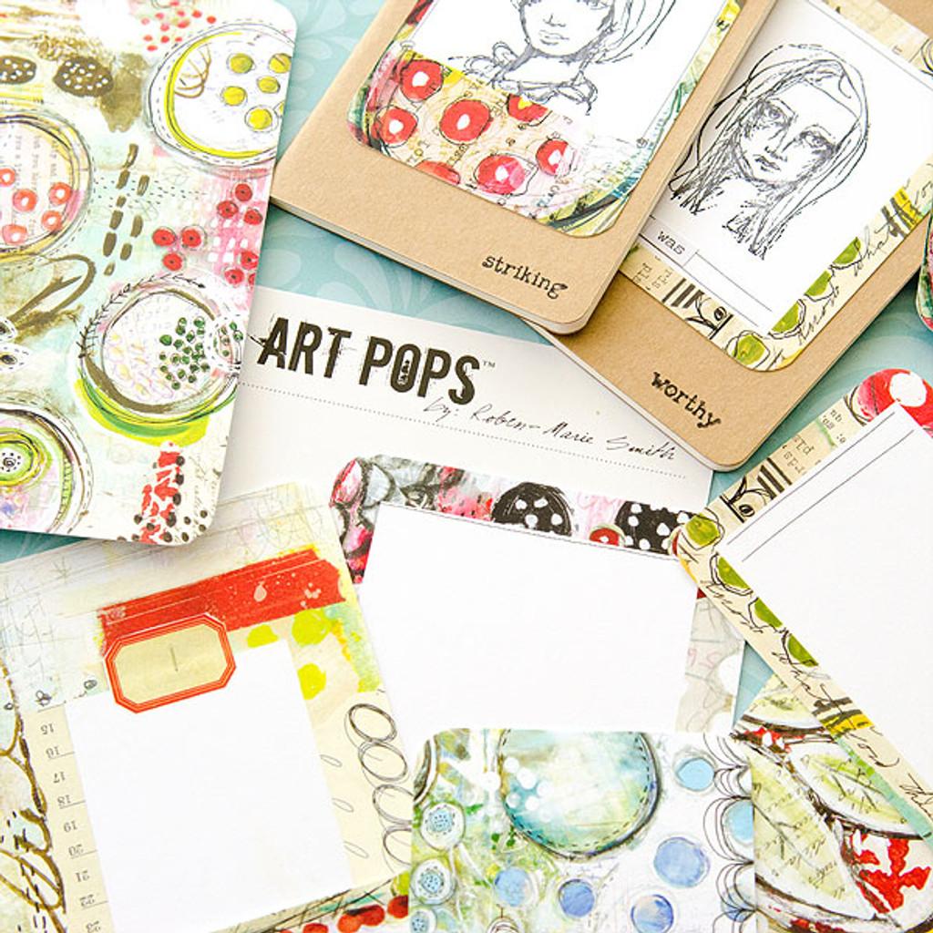 Mini Art Pops Moleskine Journals