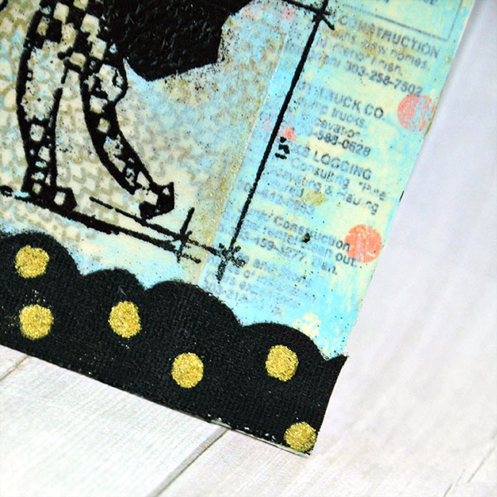 Embossed Black Cat Project
