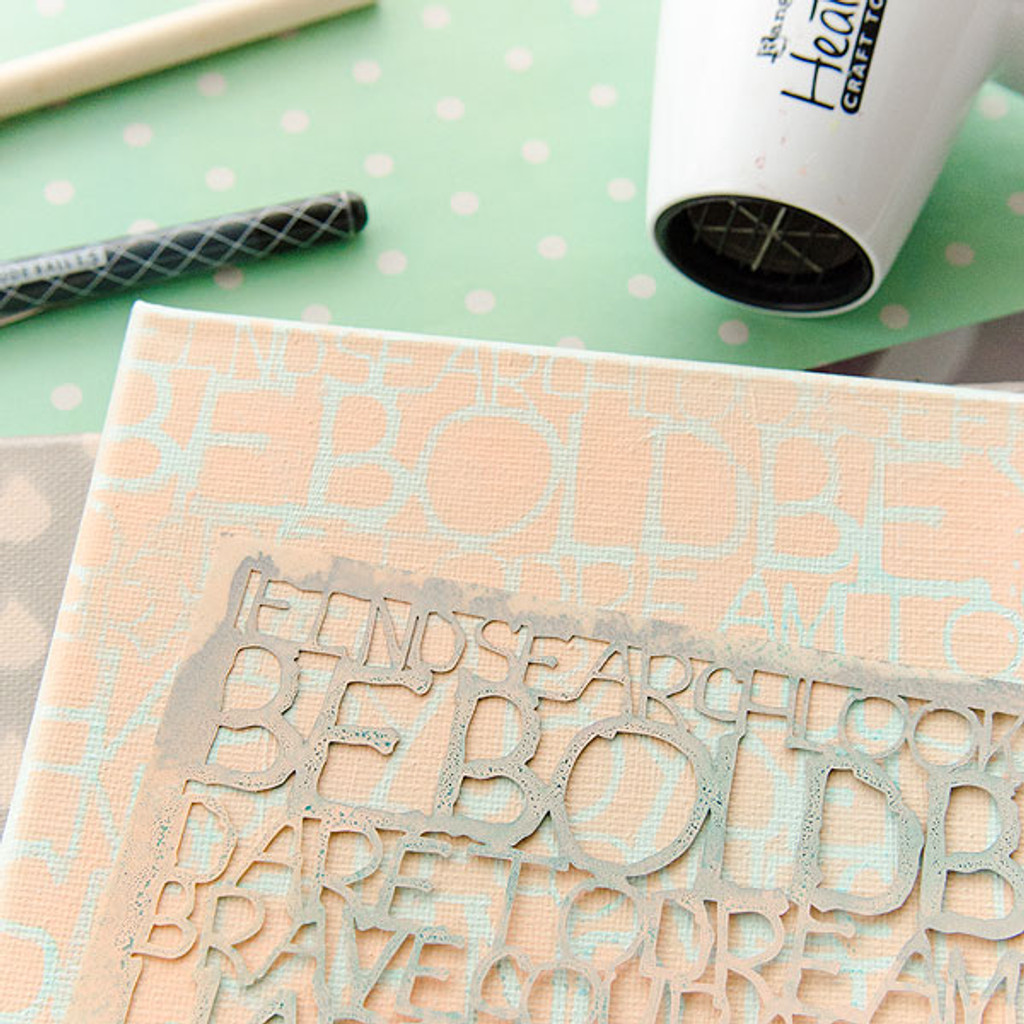Beyond the Page with Stencils by Christen Hammons