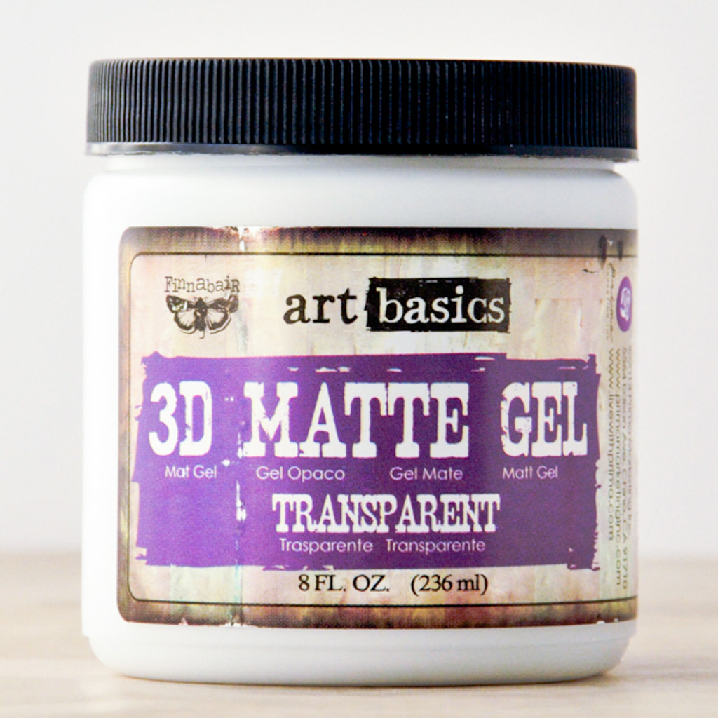 Art Basics Finnabair 3D Matte Gel — 8 oz
