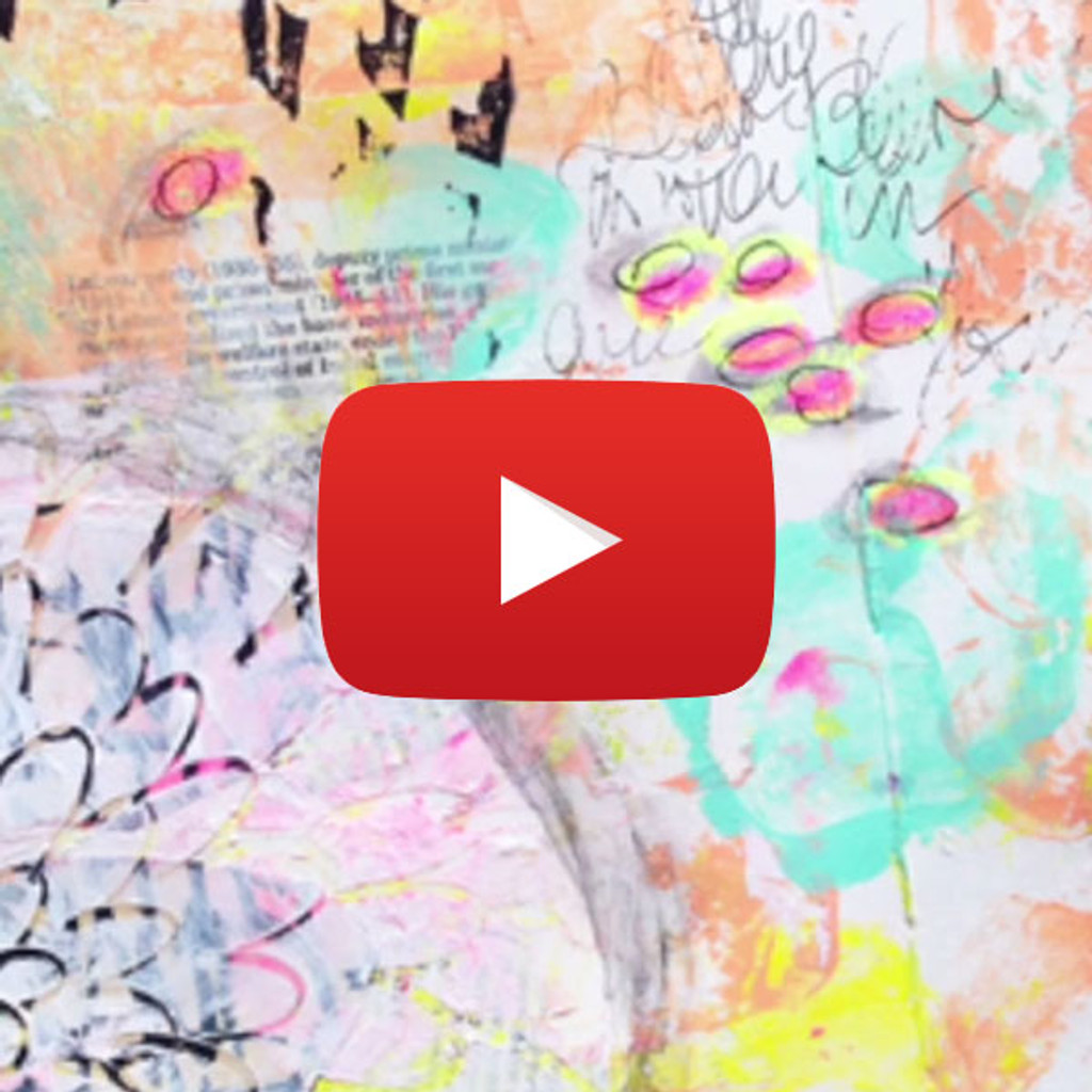 15 Minutes of Mixed Media— A Lesson in Art and Time Management