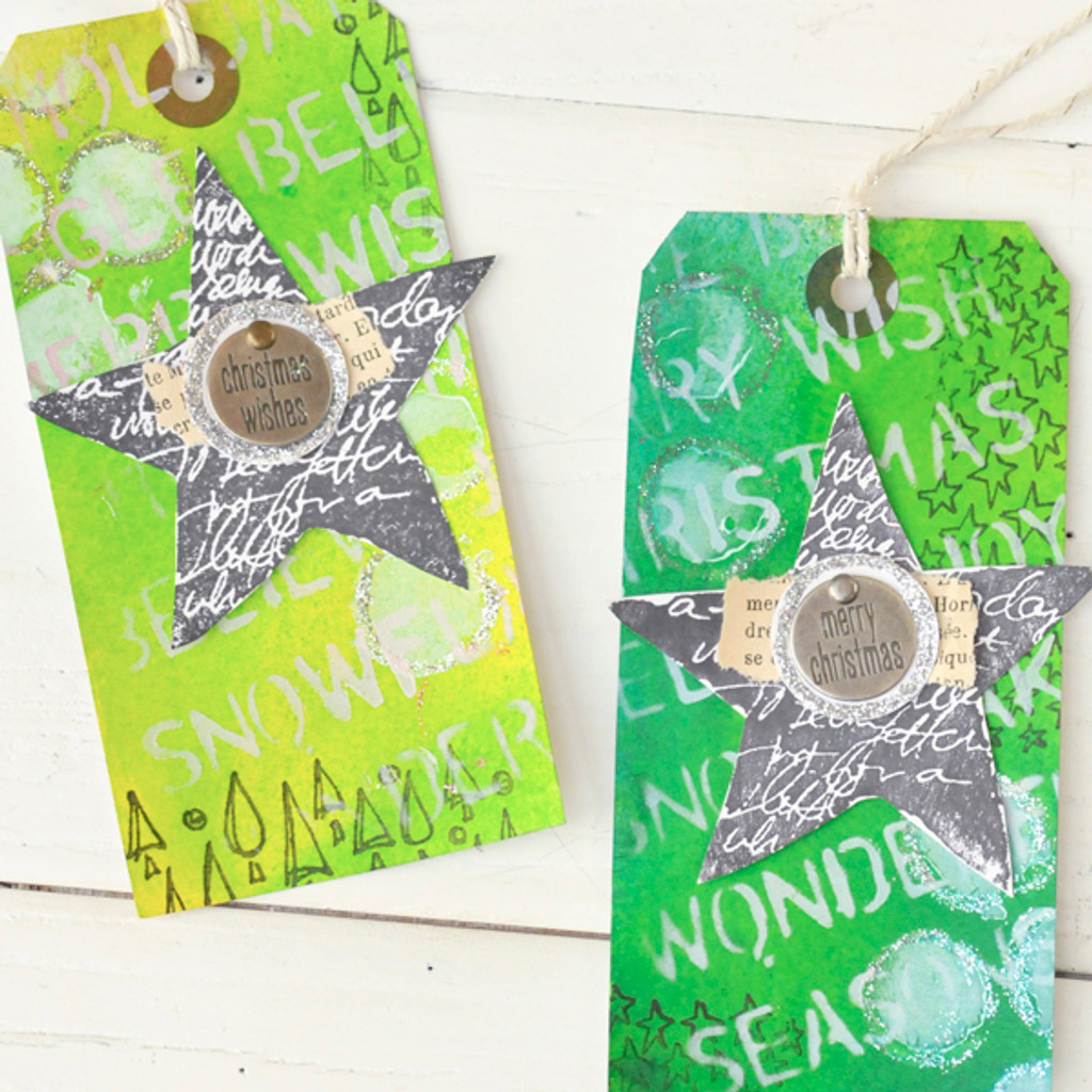 Fun & Funky Holiday Gift Tag Project