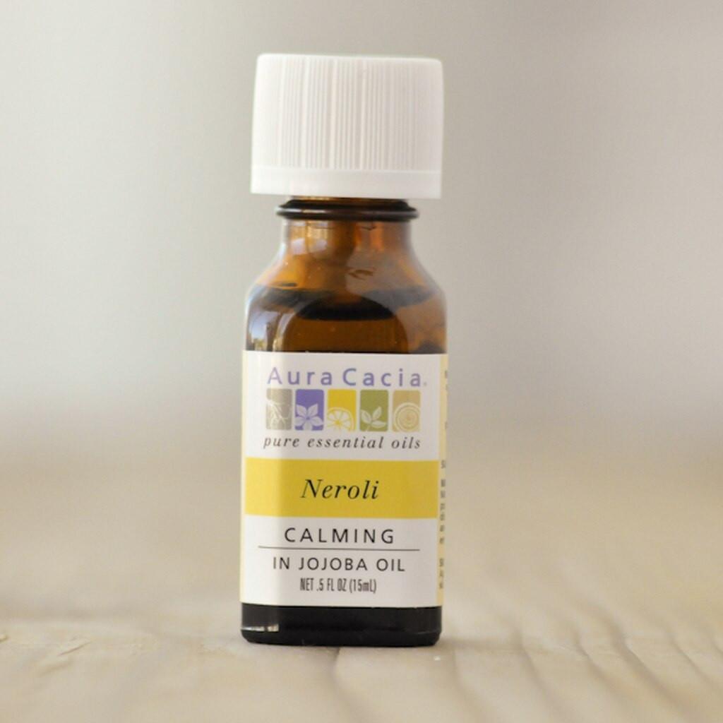 Aura Cacia Essential Oils, 0.5 fl oz —  Neroli (in Jojoba Oil)