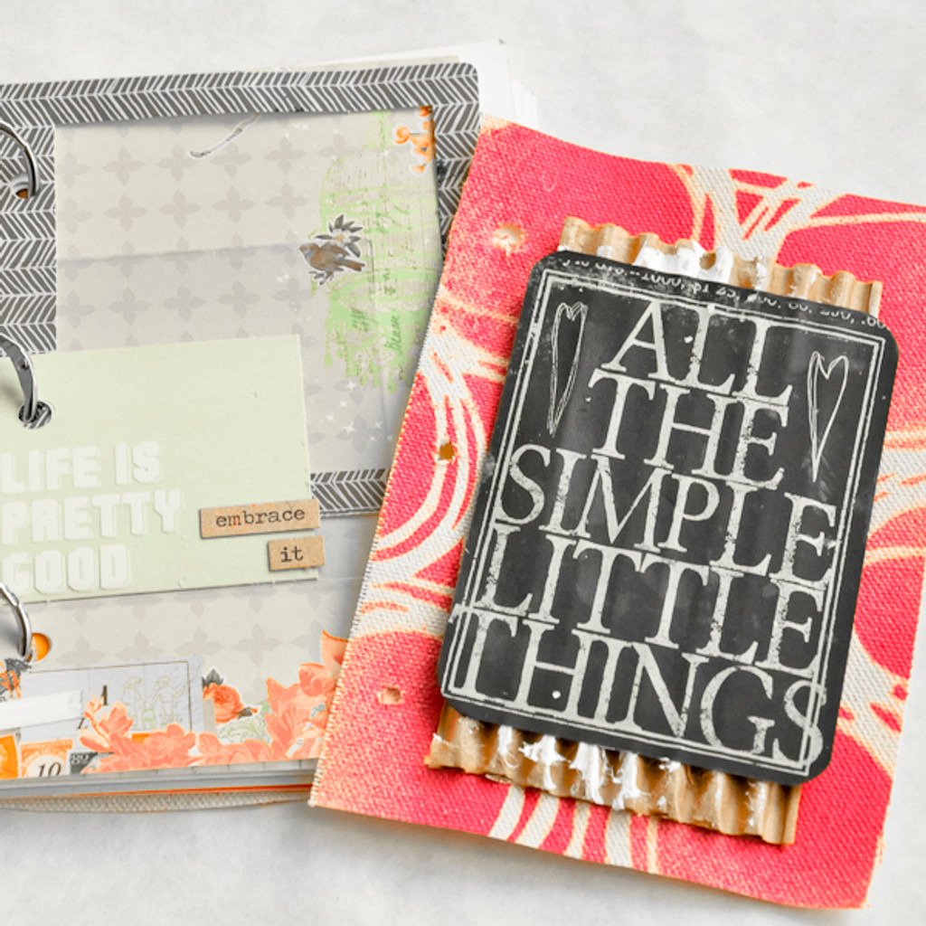 All the Simple Little Things – An Art Journal Project