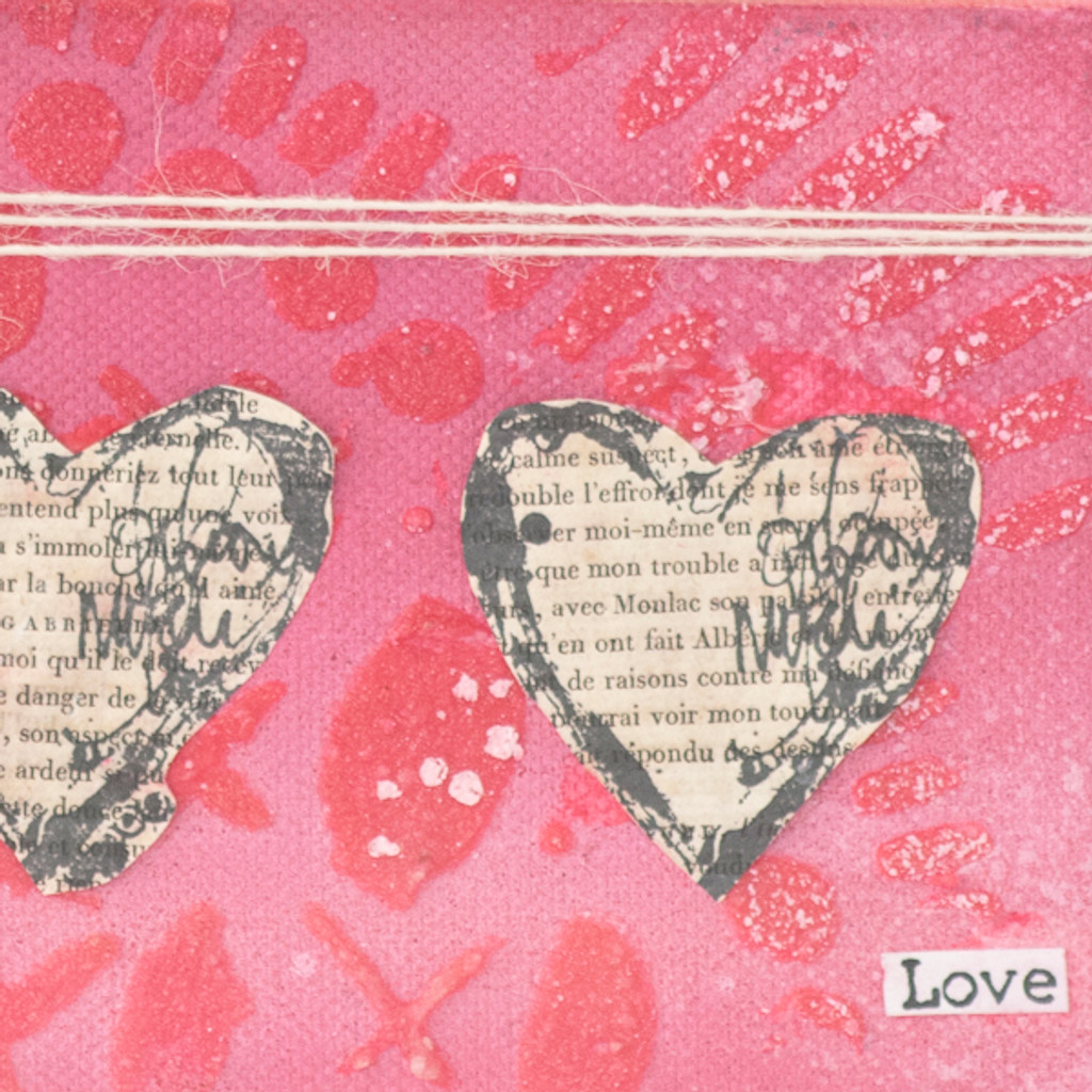 A Valentine's Day Canvas Project