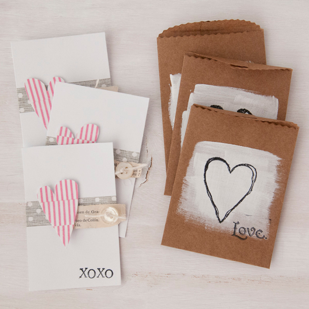 Teeny Tiny Valentine's Day Card Project