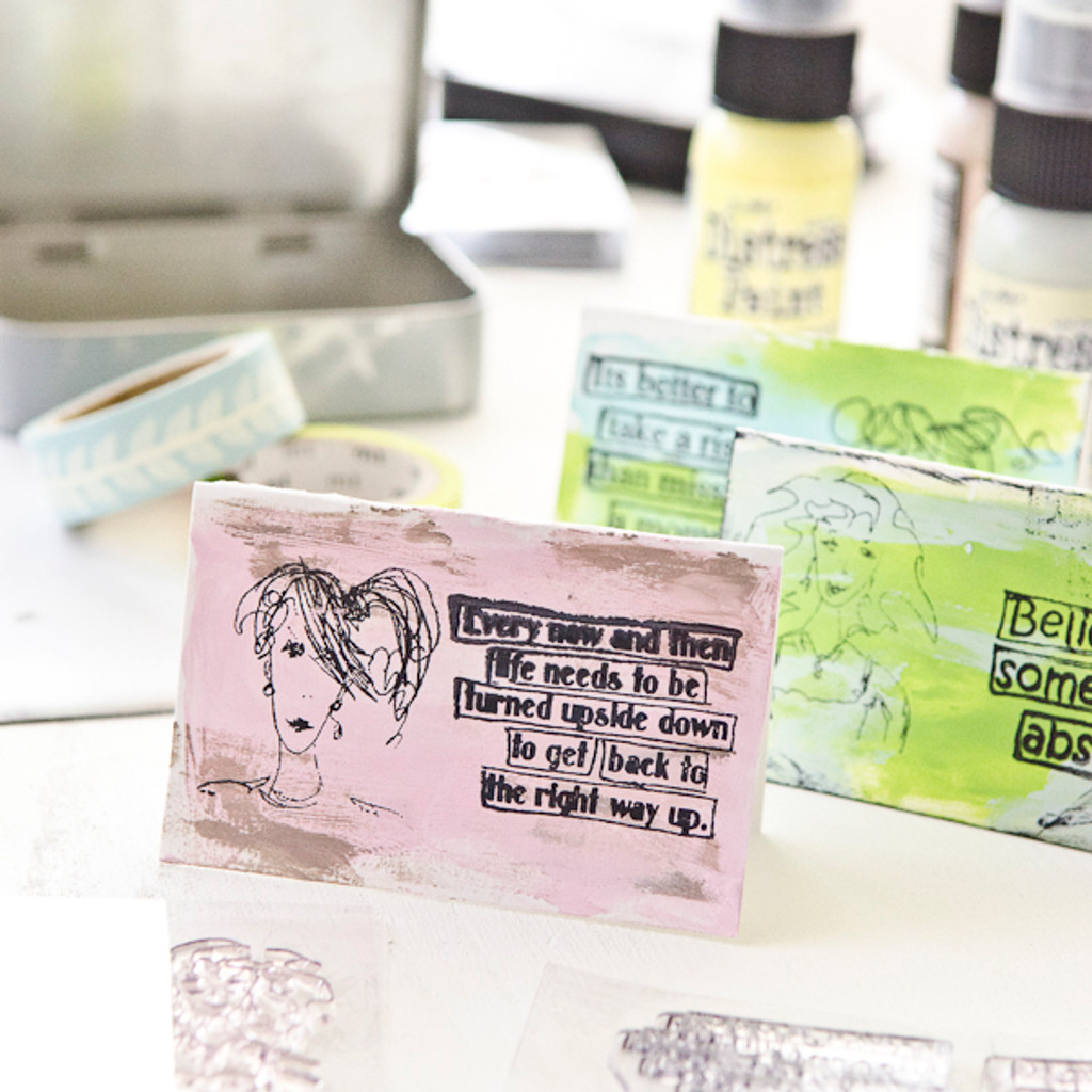 Tiny Notes Tucked in a Tin Project by Christen Hammons