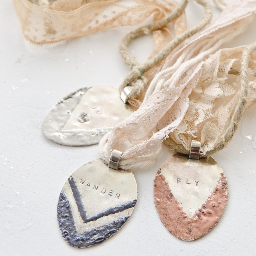Boho-Chic Spoon Pendants Project by Johanna Love