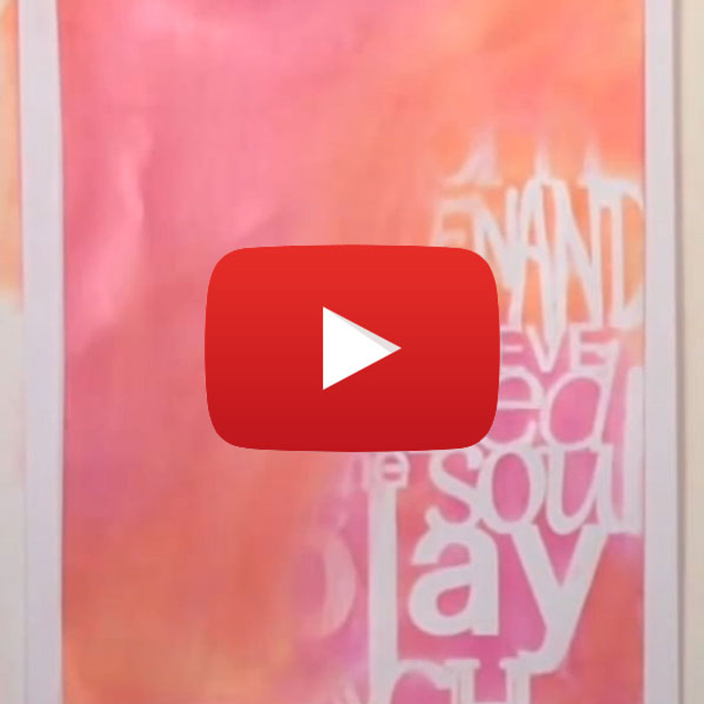 How to Seal PanPastels using Gel Medium and a Gelli Plate by Carolyn Dube
