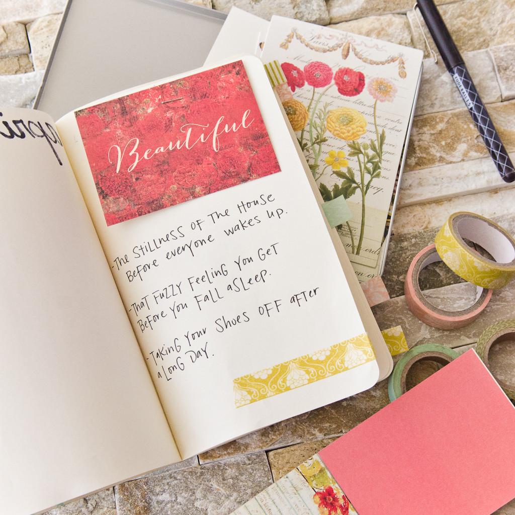 Grace Notes Journal by Christen Hammons