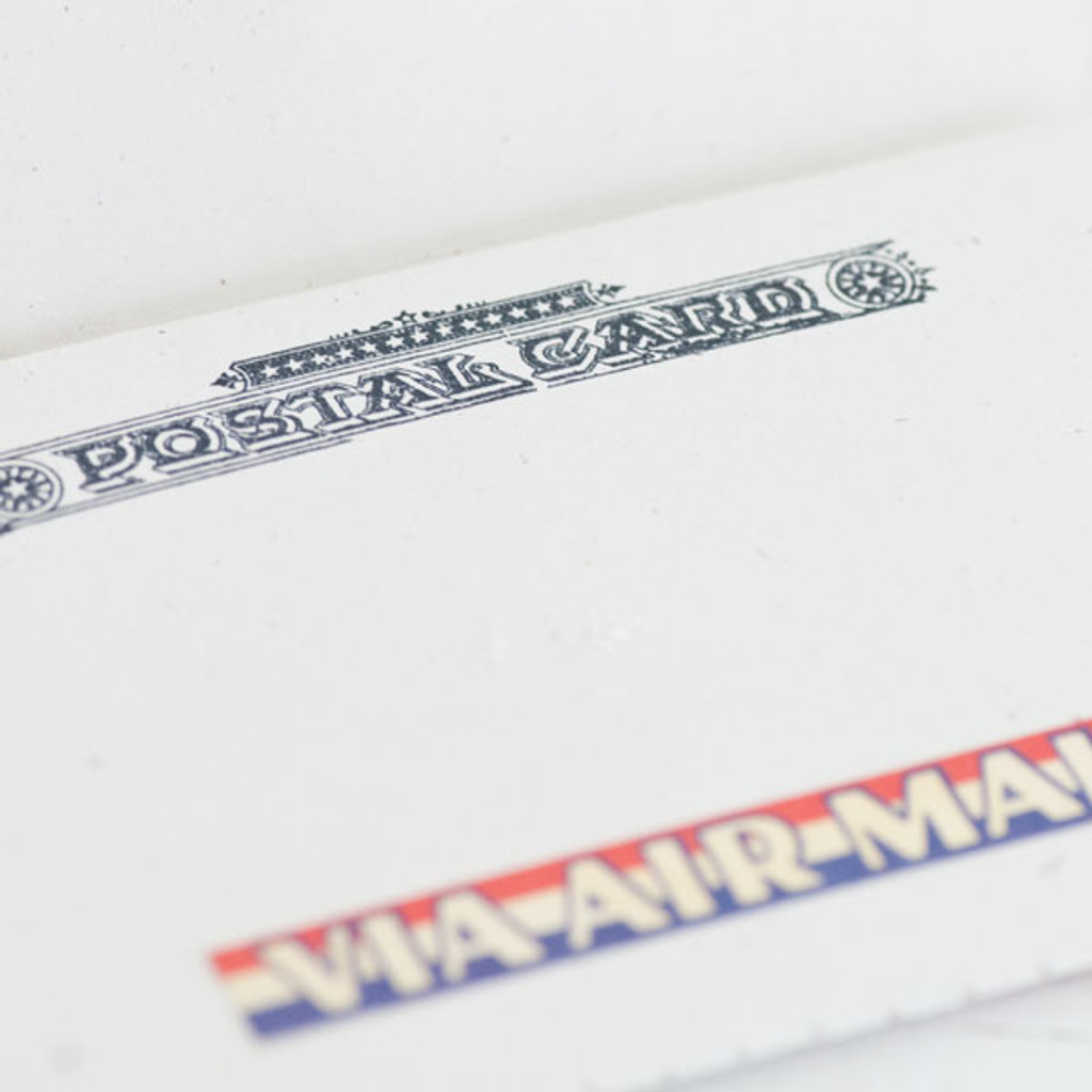 Postal Airmail Notebook Project