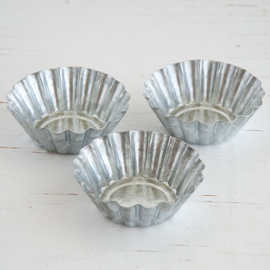 Large Fluted Tart Tins — Kit of 3