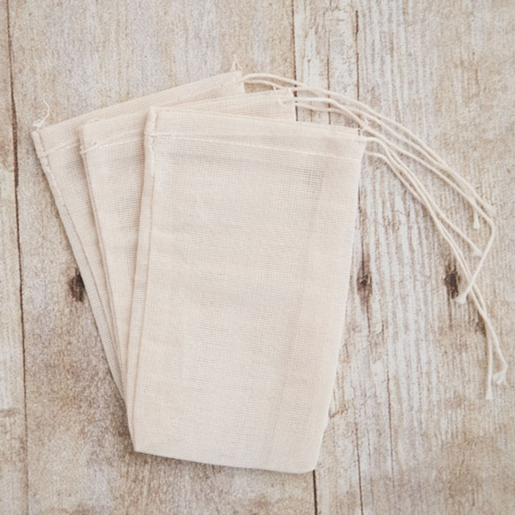 Reusable Cotton Bags — Set of 3