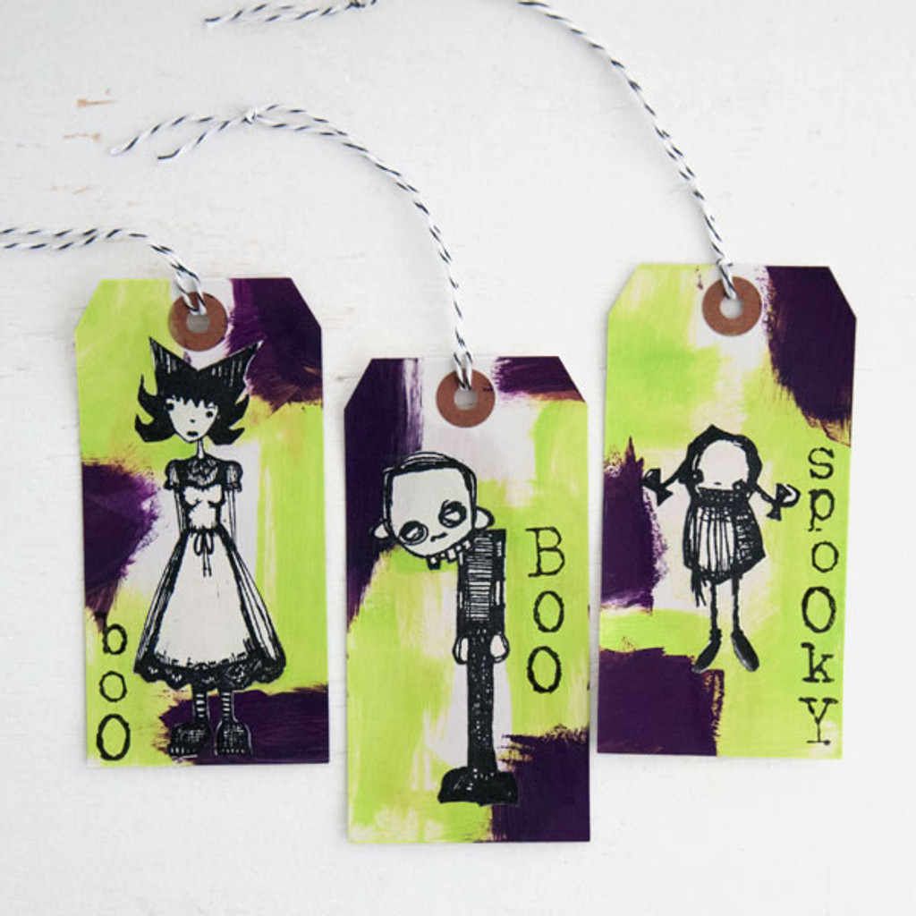 Halloween Tags Project