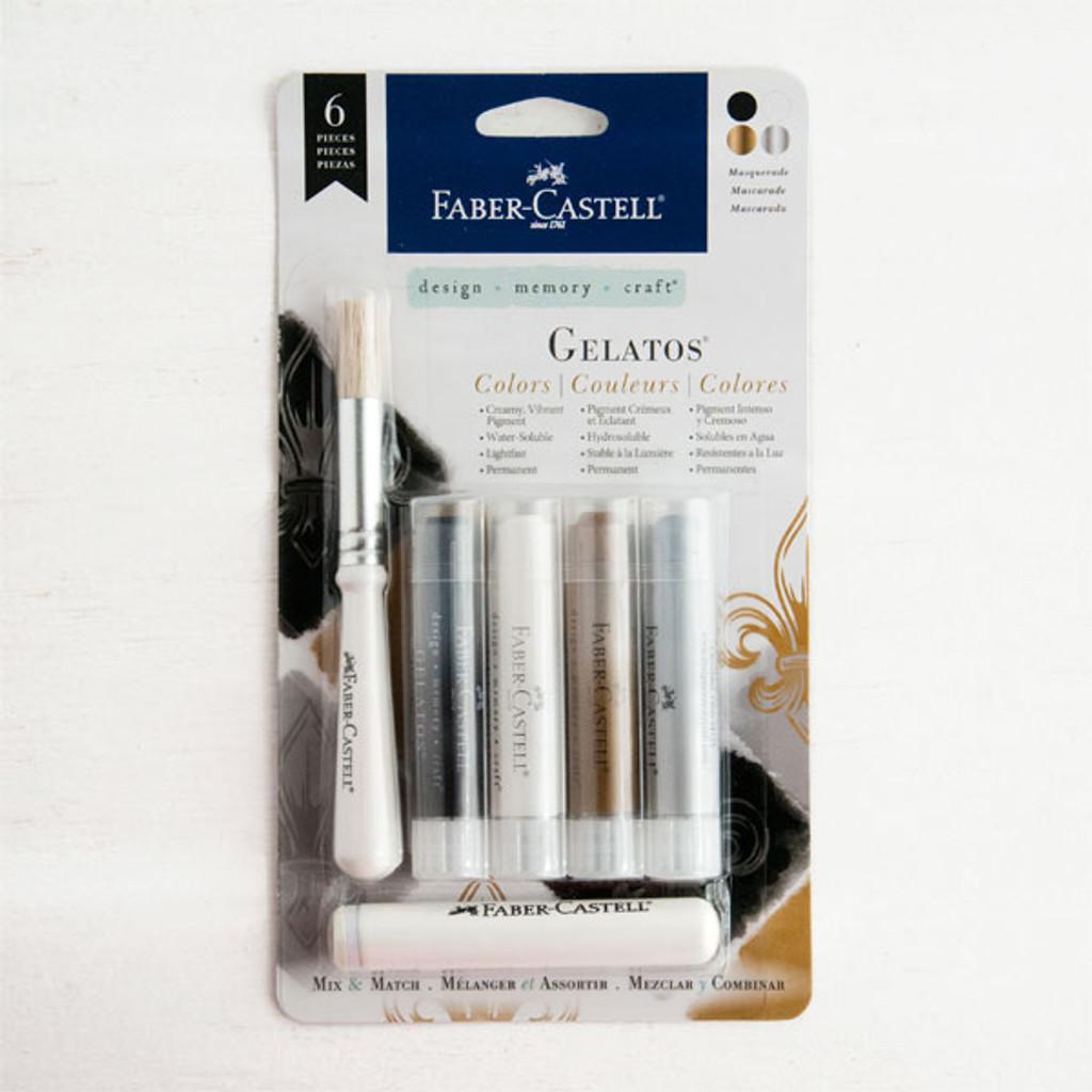 Faber Castell — Gelatos Mix and Match Masquerade 4 Pkg