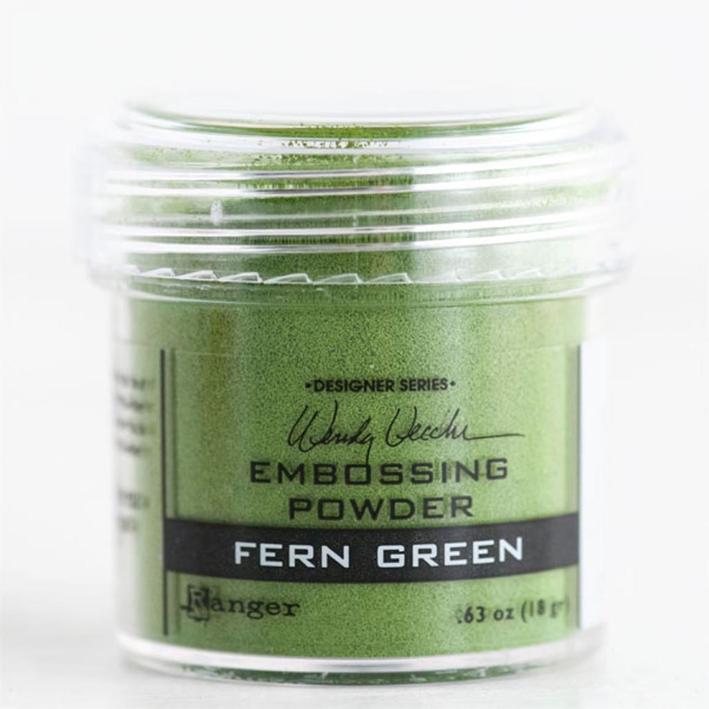 Wendy Vecchi Embossing Powder — Fern Green