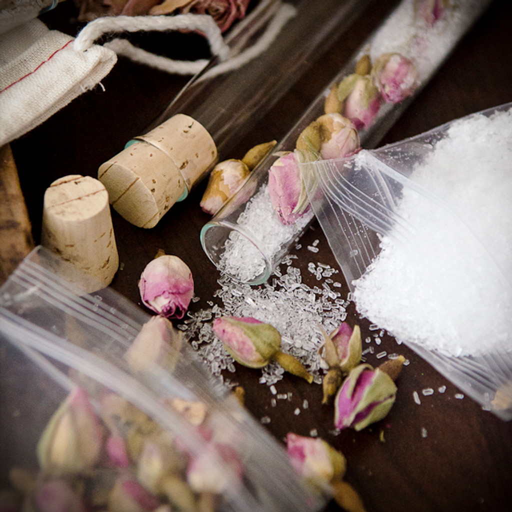 Rosebud Bath Salts DIY Kit
