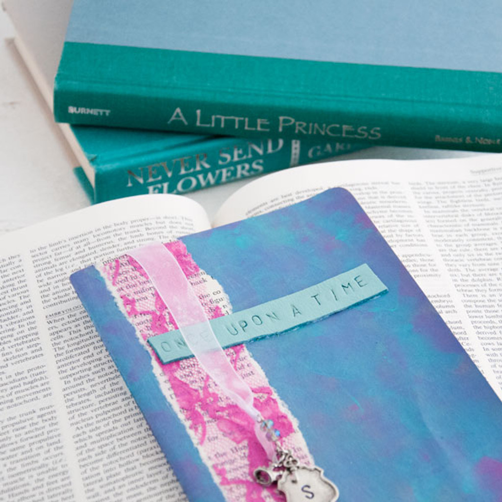 Sleeping Beauty Fairytale Journal Project by Sarah Donawerth