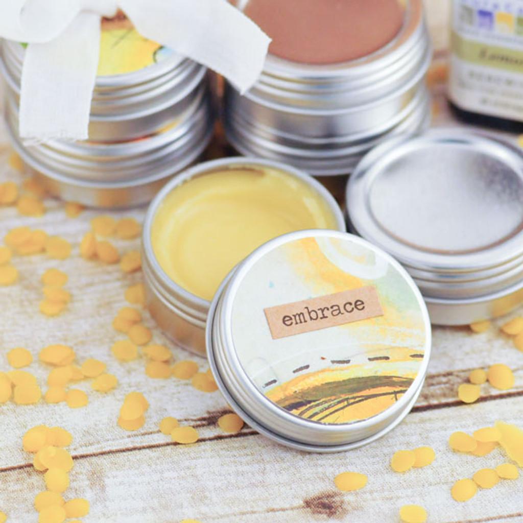DIY Coconut Lemon Lip Balm Kit