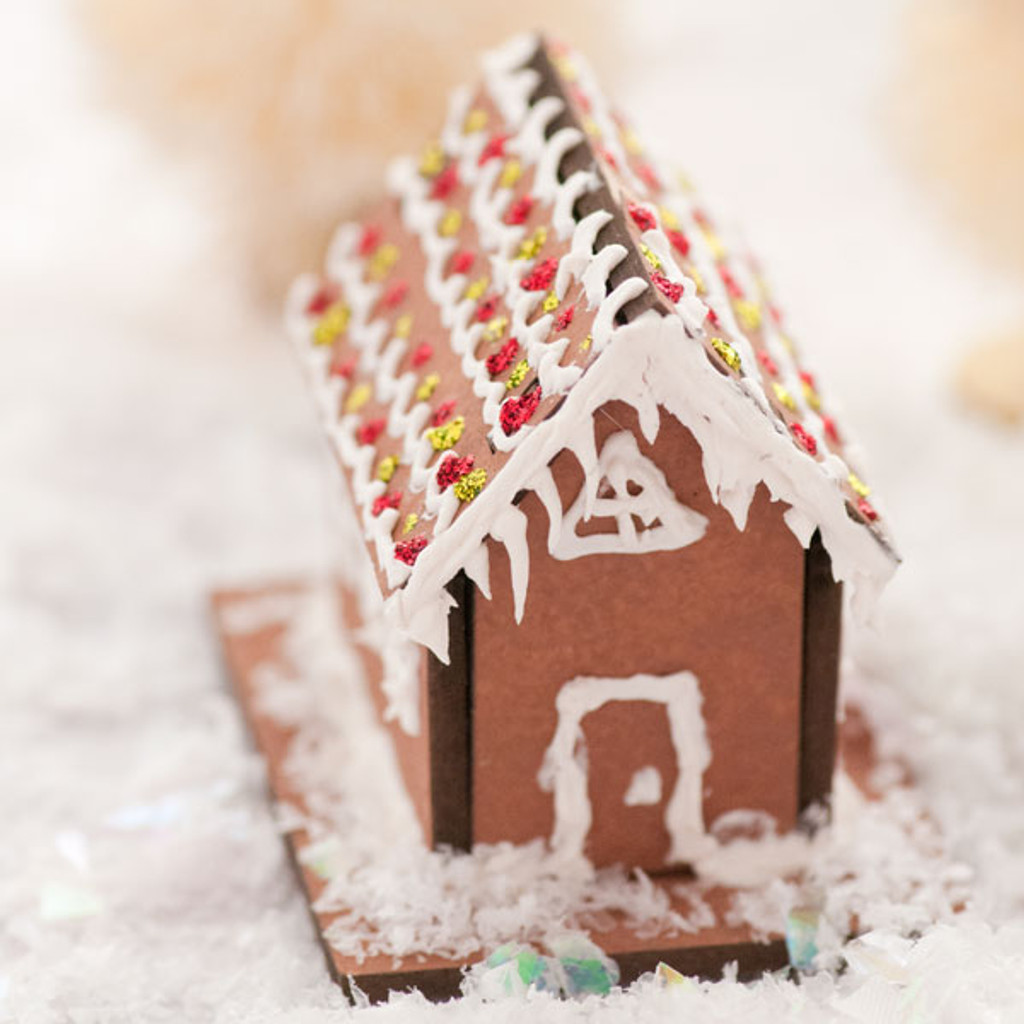 Tiny Gingerbread Houses by Sarah Donawerth