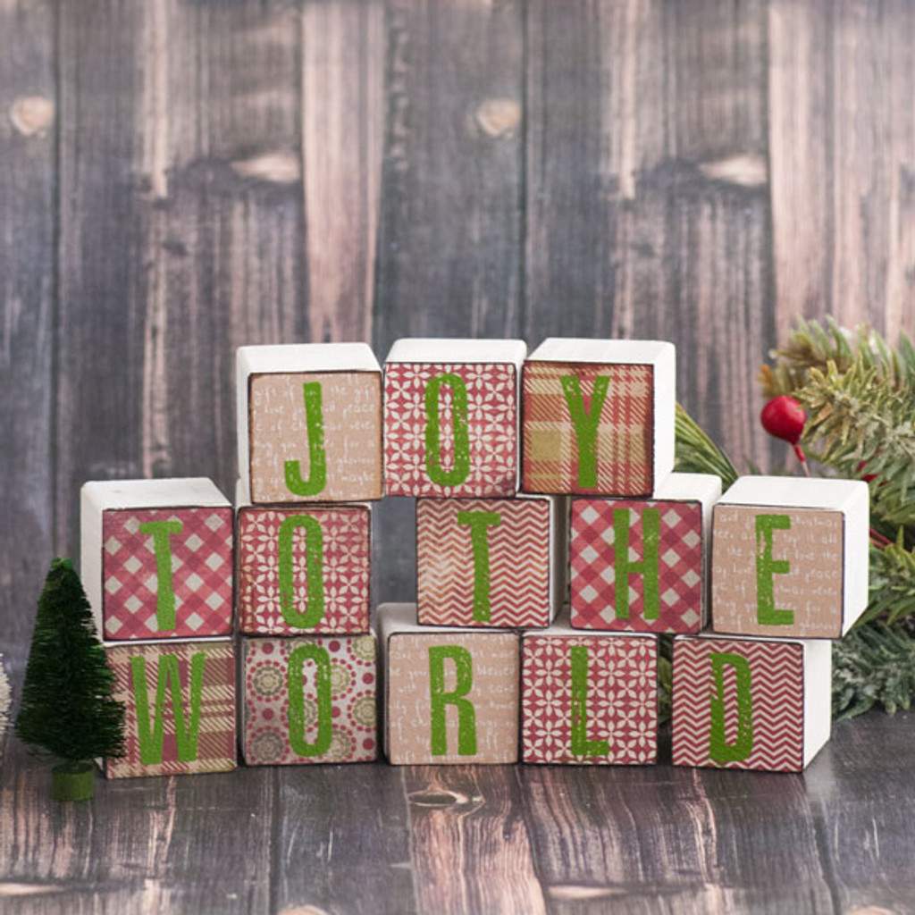 Joy to the World Blocks Project by Sarah Donawerth