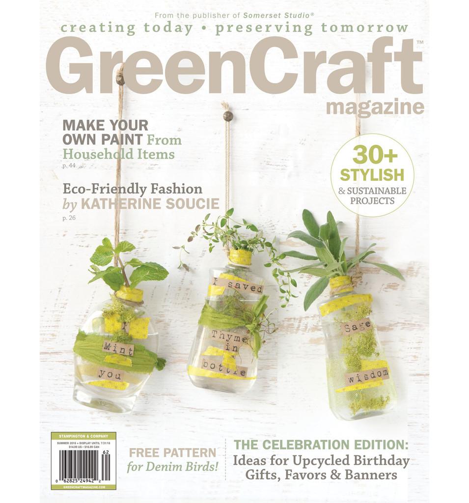 GreenCraft Magazine Summer 2016