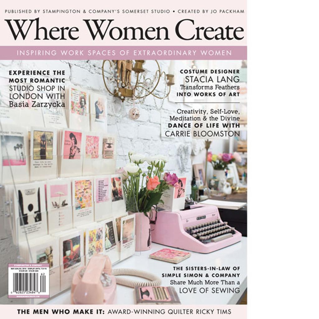 Where Women Create Summer 2016