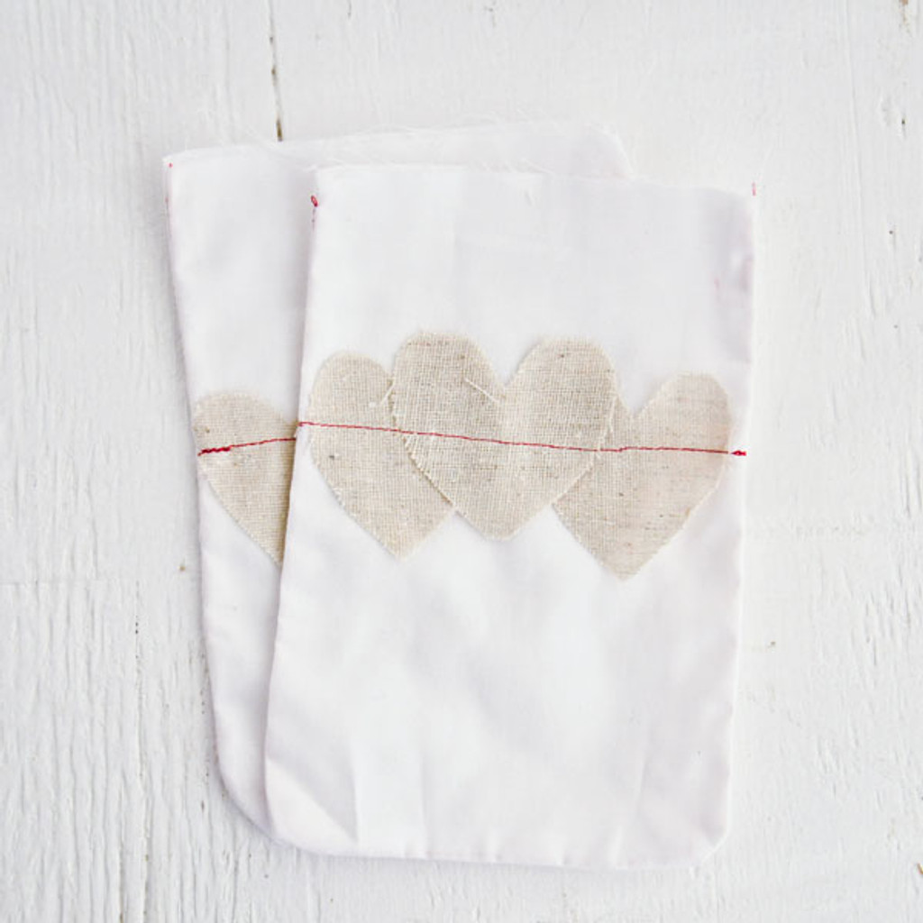 With Love Bags — White