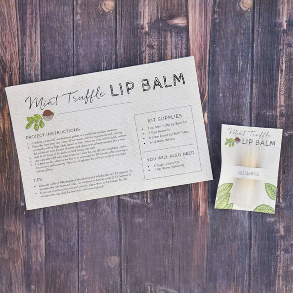 Mint Truffle Lip Balm Kit