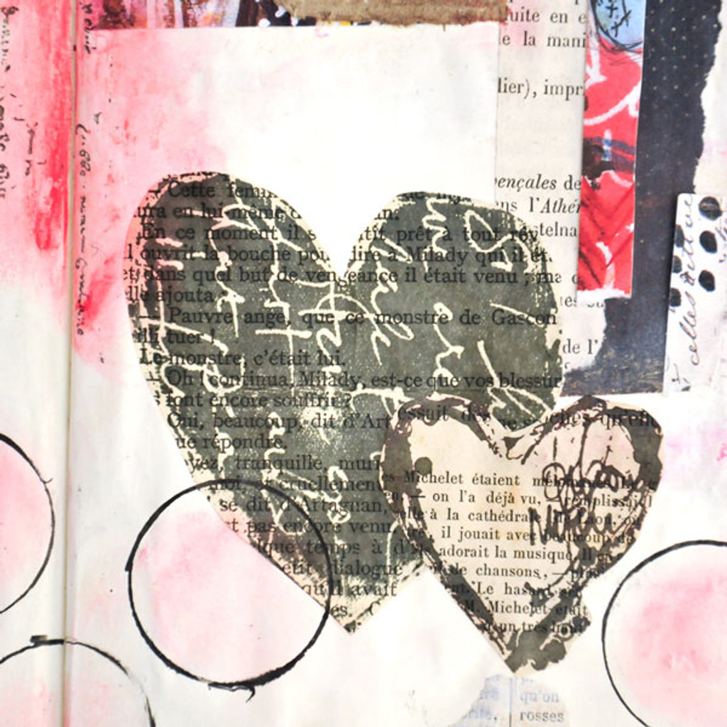 Go Where Your Heart Takes You— A Monthly Art Journal Project + A FREE Printable