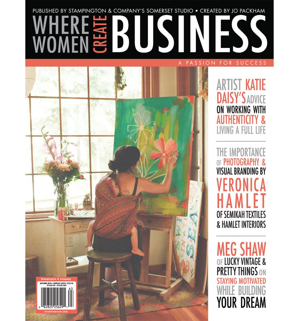 Where Women Create BUSINESS Autumn 2016